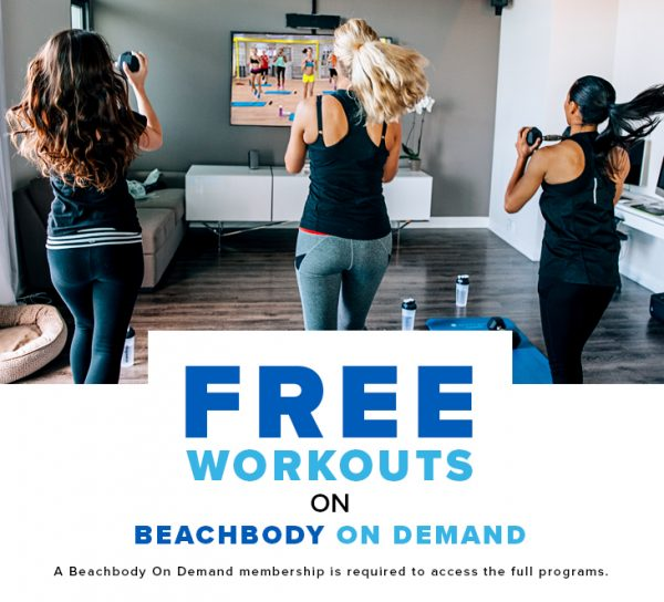 Free At Home On Demand Workouts